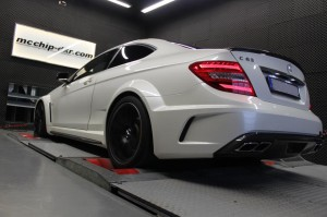Mercedes-Benz C63 AMG Black Series Stage2 ( Software Stage2 + Headers)