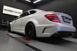 Mercedes-Benz C63 AMG Black Series Stage2 ( Software Stage2 + Headers)