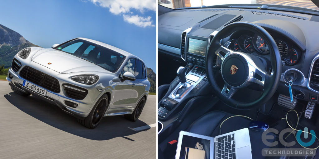 Chiptuning and Engine Remapping for a 2013 Porsche Cayenne 958 GTS 4.8 DFI V8