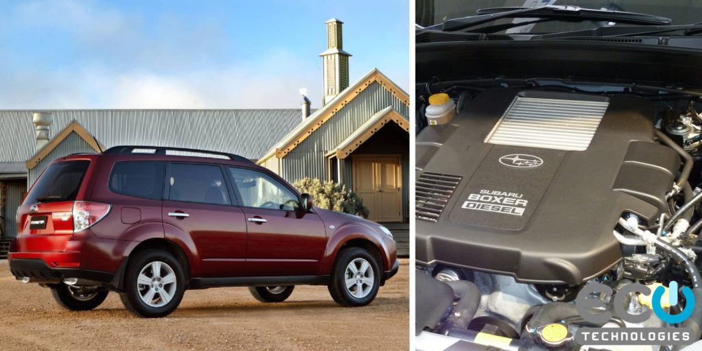 DPF Removal for a 2010 Subaro Forester