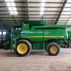 2008 John Deere STS 9670 came in for stage 1 economy tuning...