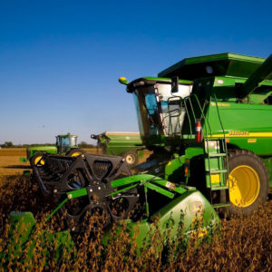 John Deere 9660 STS Harvester `stage 1 Economy Tuning...